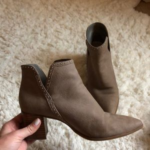 Sole Society studded booties